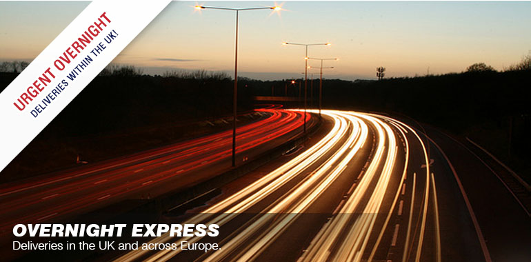 Overnight express: your UK wide urgent overnight service